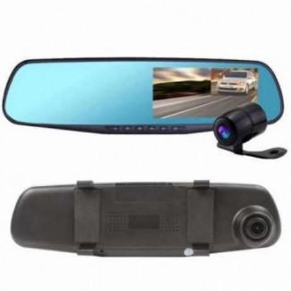 Зеркало с видео регистратором DVR L900 Full HD с камерой заднего вида