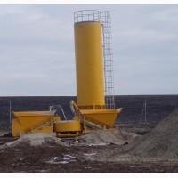 Б/У Мобильный бетонный завод Fibo Intercon F-2200 (2013 гв) Дания