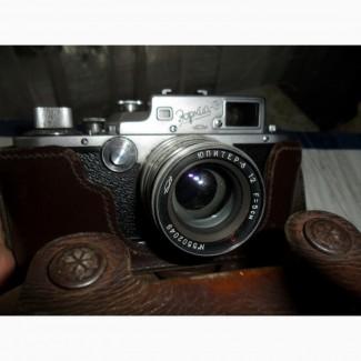 Коллекция фотоаппарато времен СССР и раньше