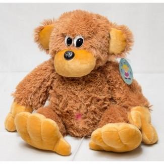 Купить мягкую игрушку большая обезьяна 75см