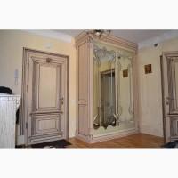 Покраска тонуваня фарбування лакування патина позолота меблі двері сходи реставрація