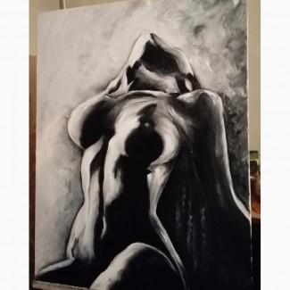 Картина маслом Спокуса 60х80