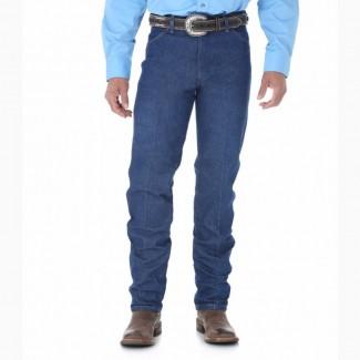 Фирменные джинсы Wrangler 13MWZ из плотного жесткого денима