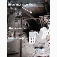 Перекрытие подвала (погреба) в гараже