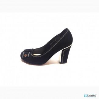 Туфли женские, замша
