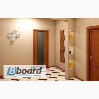 Отделка деревянными панелями квартиры