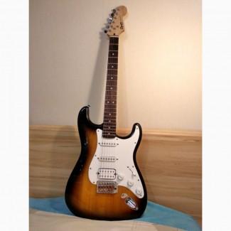 Продам б/у электрогитару Fender Squier Bullet Strat HSS
