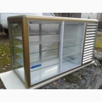 Холодильная витрина Tecfrigo б/у, настольная витрина б/у