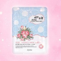 Esfolio pure skin rose essence mask тканевая маска c экстрактом розы