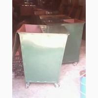 Контейнера для мусора 0.75 м3. Из металла