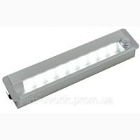 LED світильник меблевий врізний з датчиком руху 12В