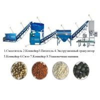 Оборудование для переработки и гранулирования навоза, помета, сапропеля, пищевых отходов