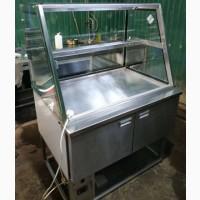 Стол холодильный б/у с нейтральной витриной
