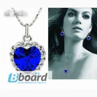 Шикарное ожерелье Сердце океана