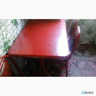 Продам б/у столы со стульями в хорош состоян для летних кафе, баров, частных домов и т д