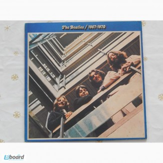 The Beatles 1967-1970+Booklet (Japan) NM-/EX+/EX