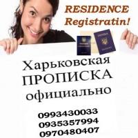 Помогу с регистрацией места жительства в Харькове