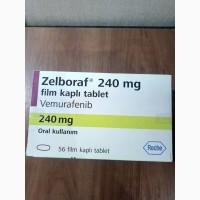 Zelboraf 240 mg 56 tab Зелбораф Турция