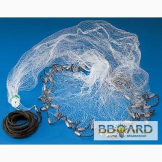 купить рыболовную сеть парашют из нитки в украине