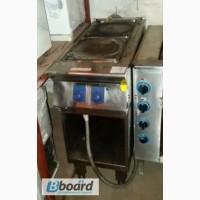 Продам плиту бу профессиональную электрическую 2-х конфорочную Elektrolux без духовки