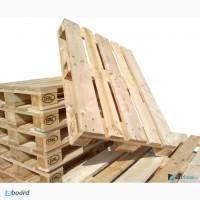 Купим поддоны деревянные (новые, б/у) 1200х800; 1200/1000