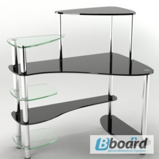 Мебель кухни стеклянные столы, стеклянная офисная мебель