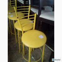 Стільці барні жовті б/у