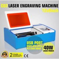 Лазерный гравер CO2, гравировальный аппарат 40 Вт., 50 Вт., 60 Вт., 80 Вт