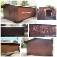 Покрасить металлический гараж | Услуги покраски в Кривом Роге