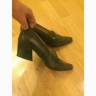 Туфли из натуральной кожи. Новые