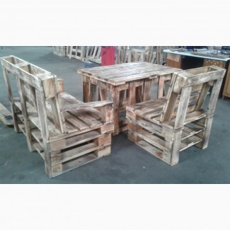 Стол деревянный, столики с поддонов, деревянные столики
