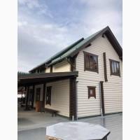 9 Паляница Деревянный двухэтажный дом с камином на 5 комнат с удобствами на 10 мест 1.5 км