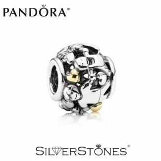 Скидки! Pandora Пандора шарм бусина Семья арт. 791040 Оригинал