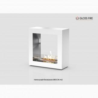 Напольный биокамин BROOK-m2 ТМ Gloss Fire
