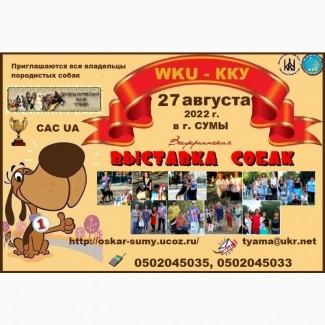 Приглашаем всех на Всеукраинскую выставку собак 2022