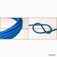 Провод ПДК (провод декоративный круглый) синего цвета