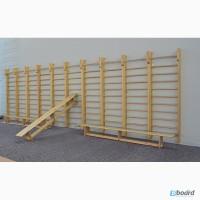 Шведская стенка деревянная для учебных заведений