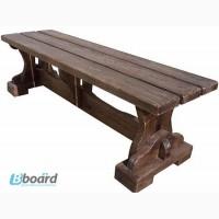 Изготовление скамеек из дерева, Деревянная лавка Усадьба