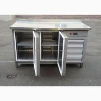Продам бу холодильный стол из пищевой нержавеющей стали для кафе, бара, ресторана