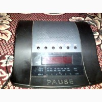 Продам б/у настольное радио-часы пауза