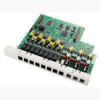 Panasonic KX-TE82483X, плата 3 внешних аналоговых (СО) и 8 внутренних гибридных линий