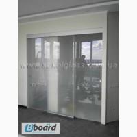 Скляні двері розсувні