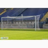 Ворота футбольные (разборные) 7320х2440, без дуг (на растяжках)