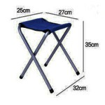 Мебель для пикника FTS1-4, алюминиевый стол раскладной+ 4 стула