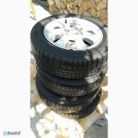 Диски легкосплавные opel 4х100 R15 с шинами