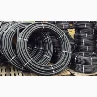 Труба напорная полиэтиленовая для пищевого водоснабжения (производитель) 20мм -225мм PE