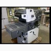 Печатная машина формата А3, 2 краски
