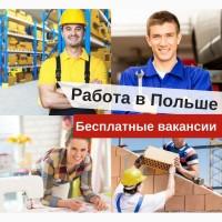 Работа в Польше. Легальна работа для украинцев