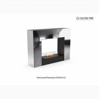 Напольный биокамин EDISON-m3 ТМ Gloss Fire