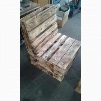 Стул деревянный, кресло из дерева, стульчики, стула из поддонов
